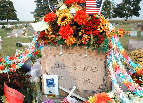 James Dean's Grave In His Hometown
